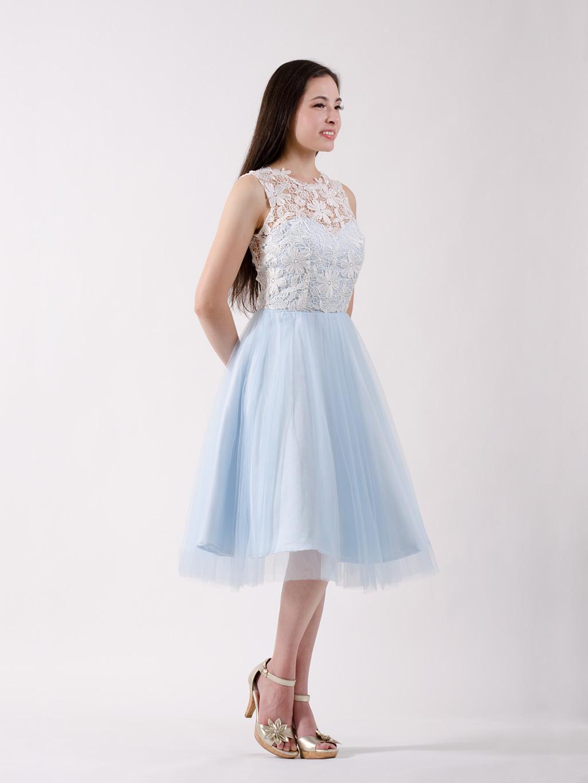 Bridesmaid dress ice blue lace bridesmaid dress ice blue ombrellifo Choice Image
