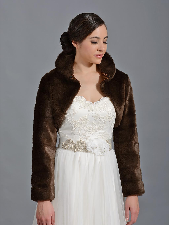 Faux Fur Bolero Faux Fur Jacket and Faux Fur Shrug