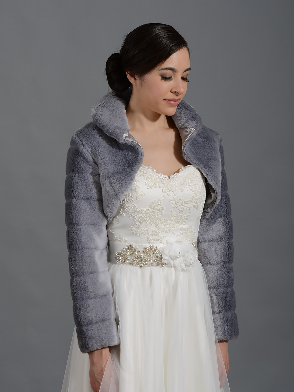 Faux fur bolero jacket 3/4 sleeve with collar in Mink bridal shrug wedding stole coat evening wrap FBA AVL in white and 2 other colors Girls Navy Blue Faux Fur Wrap, faux fur shrug, 3 sizes NF-FG-NBLUE because here they come. There are faux fur shrug for sale on Etsy, and they cost $ on average. The most common faux fur.