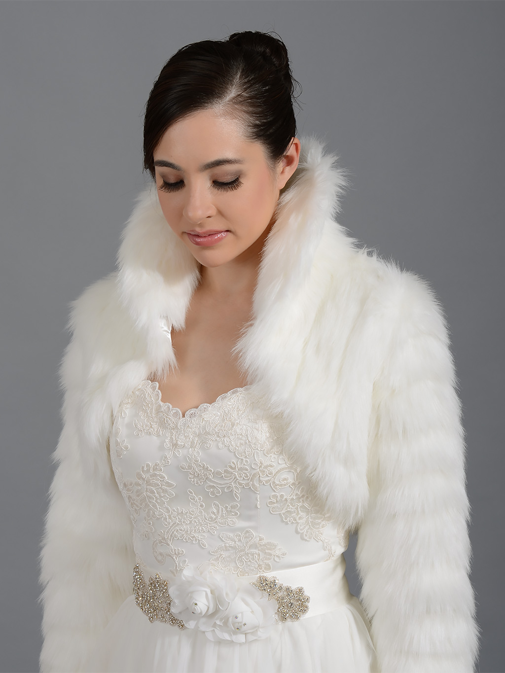 Bridal faux fur stole wrap,White faux fur wedding jacket shrug bolero Details. Faux Mink Fur Stole Cape with Collar with hidden fastener Natural Brown Sable Regular Size Material: Faux Fur/Satin Normally you can receive in 15~35 days,please contact me if you need fast delivery!Price: $