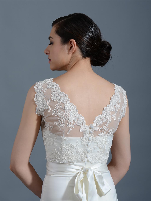 Wedding lace jacket bolero junoir bridesmaid dresses for Lace jackets for wedding dresses