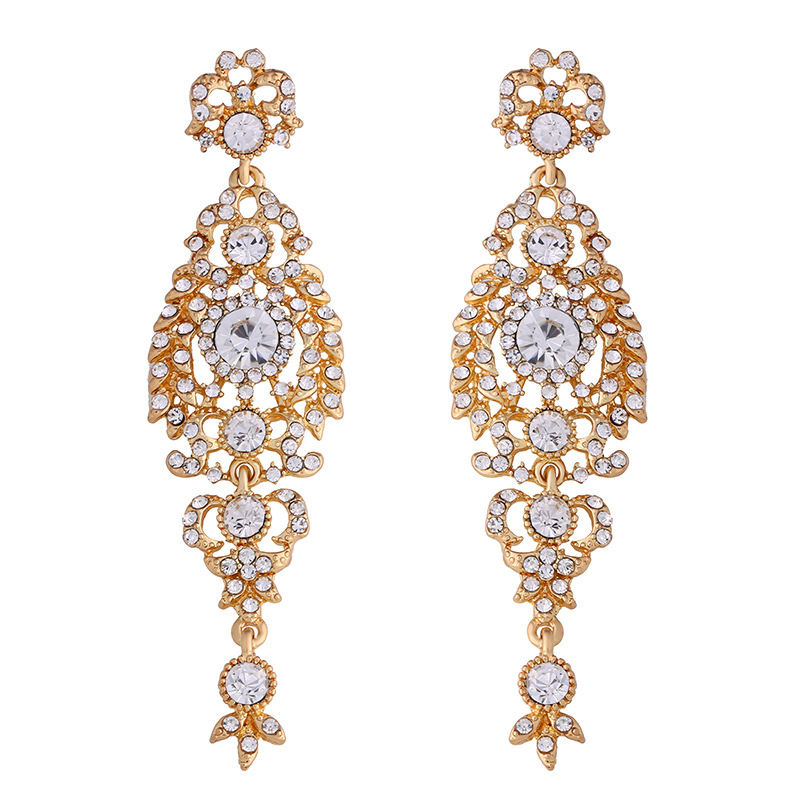 Sparkling Rhinestones earrings Earring_012