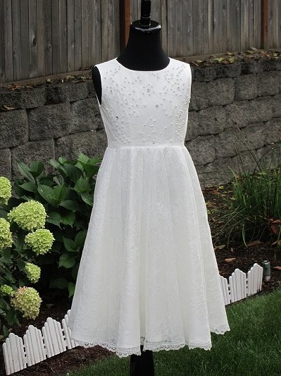 Flower girl dress 006