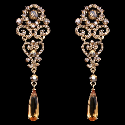 Sparkling Rhinestones earrings Earring_010