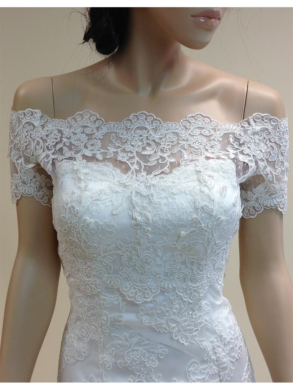Off the Shoulder Bridal Jacket