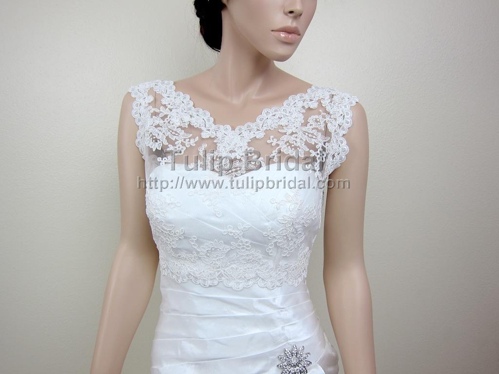 97df2370086 ... Lace Bolero Wedding jacket. Tap to expand. wedding dress topper. prev