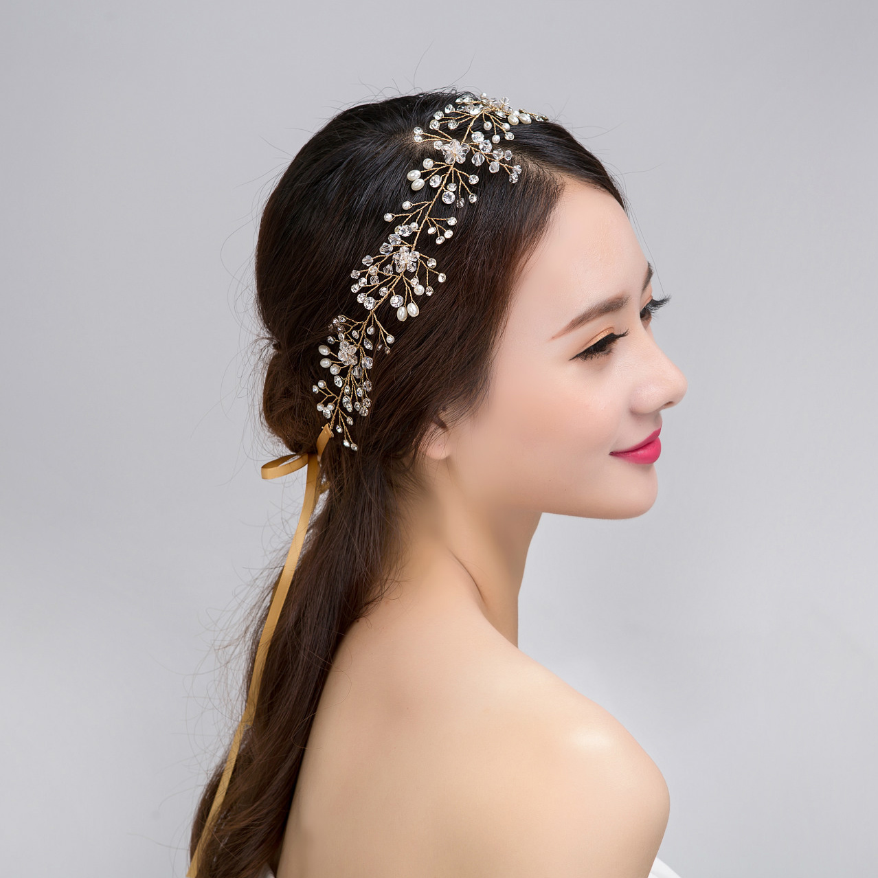 Wedding hair vine HV002