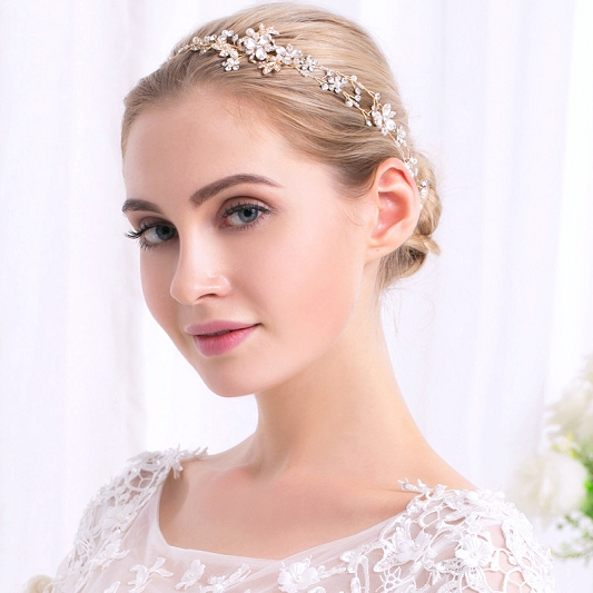 Wedding hair vine HV003